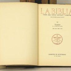 Libros antiguos - 7450 - LA BIBLIA. 6 VOLUM(VER DESCRIP). EDI. MONESTIR DE MONTSERRAT. 1928-1936. - 56393582