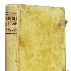 Libros antiguos: PEDRO DE CALATAYUD. EJERCICIOS ESPIRITUALES PARA ECLESIASTICOS Y ORDENADOS. 1772. EN PERGAMINO ÉPOCA. Lote 56459962