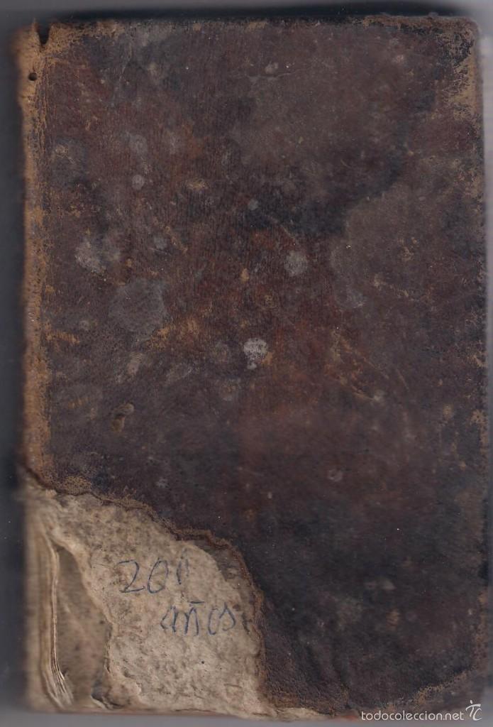 NOVENARIO DEOLOROSO DE MARIA SANTÍSIMA 1804 (Libros Antiguos, Raros y Curiosos - Religión)