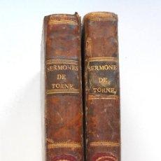 Libros antiguos: SERMONES PREDICADOS AL REY EN LA QUARESMA DE 1764 - ABAD TORNÉ - MADRID 1805 - DOS TOMOS. Lote 56848556