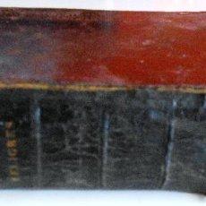 Libros antiguos: EL PERFECTO FELIGRÉS. OFICIO DIVINO COMPLETO PARA TODOS LOS DIAS DE FIESTA Y DE PRECEPTO (1873). Lote 56958779