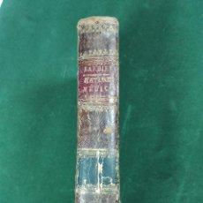 Libros antiguos: TRACTATUS DE VERA RELIGIONE - TOMUS SECUNDUS - LUDOVICO BAILLY - 1825 - LATÍN -. Lote 56968359