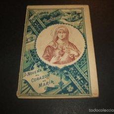 Libros antiguos: NOVENA AL CORAZON DE MARIA EDITORIAL CALLEJA HACIA 1900 COLECCION DEVOCIONES ESCOGIDAS. Lote 56976724
