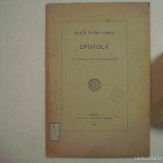 Libros antiguos: SANCTI PATRIS IGNATII. EPISTOLA AD SCHOLASTICOS CONIMBRICENSES.1926.FOLIO. Lote 56981687