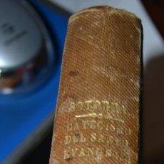 Libros antiguos: EL CATECISMO DEL SANTO EVANGELIO DE JESUCRISTO EXPLICADO. JUAN SOTORRA MADRID 1854. Lote 57261350