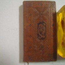 Libros antiguos: LA JOURNÉE DU CHRÉTIEN. 1919.BELLO BREVIARIO EN MINIATURA.BUENA EDICIÓN. Lote 57290191