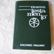 Libros antiguos: **NUEVO TESTAMENTO EDICIONES PAULINAS AÑOS 70**. Lote 57291840