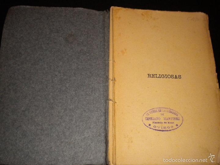 Libros antiguos: tomo IV religiosas / obras completas / primera edicion 1906 / jose maria gabriel y galan - Foto 3 - 57364292