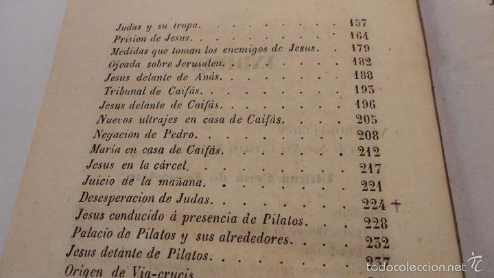 Libros antiguos: SOR ANA-CATALINA EMMERICH.LA DOLOROSA PASION DE N.S.JESUCRISTO.MADRID.1853. - Foto 4 - 57419327