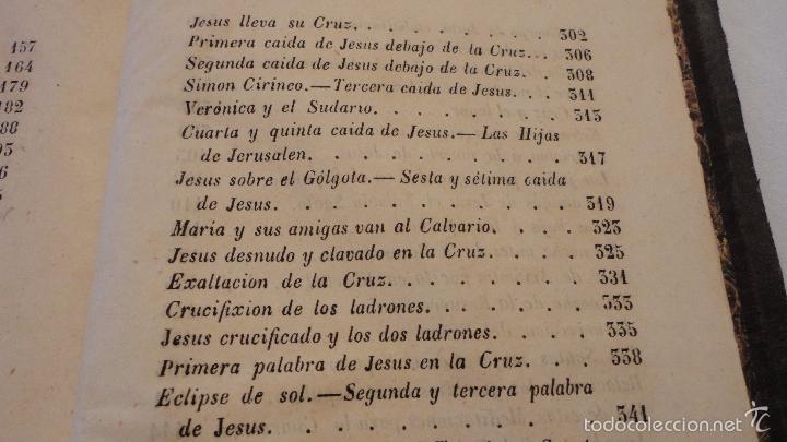 Libros antiguos: SOR ANA-CATALINA EMMERICH.LA DOLOROSA PASION DE N.S.JESUCRISTO.MADRID.1853. - Foto 6 - 57419327