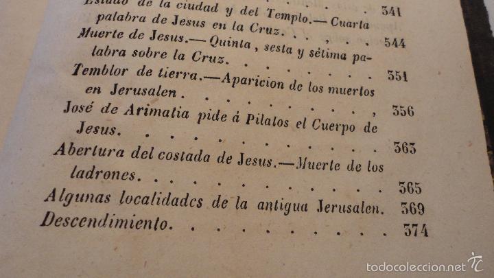 Libros antiguos: SOR ANA-CATALINA EMMERICH.LA DOLOROSA PASION DE N.S.JESUCRISTO.MADRID.1853. - Foto 7 - 57419327