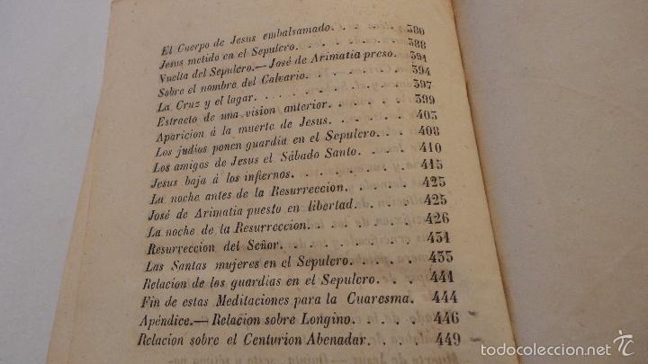 Libros antiguos: SOR ANA-CATALINA EMMERICH.LA DOLOROSA PASION DE N.S.JESUCRISTO.MADRID.1853. - Foto 8 - 57419327