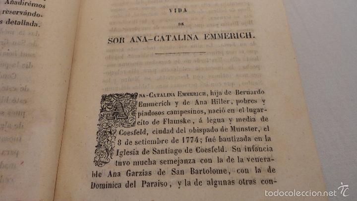 Libros antiguos: SOR ANA-CATALINA EMMERICH.LA DOLOROSA PASION DE N.S.JESUCRISTO.MADRID.1853. - Foto 9 - 57419327