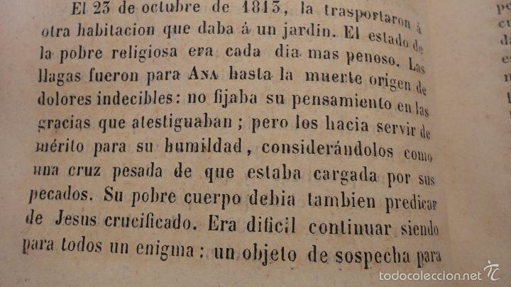 Libros antiguos: SOR ANA-CATALINA EMMERICH.LA DOLOROSA PASION DE N.S.JESUCRISTO.MADRID.1853. - Foto 10 - 57419327