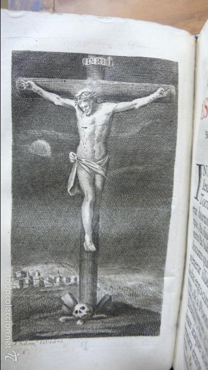 Libros antiguos: OFICIO DE LA SEMANA SANTA SEGÚN EL MISAL Y BREVIARIOS ROMANOS. 1776. - Foto 6 - 57435711