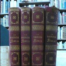 Libros antiguos: LA SAGRADA BIBLIA. [TORRES AMAT, FÉLIX.] MONTANER Y SIMON, 1883-1884.. Lote 57485037