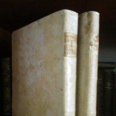 Libros antiguos: CARTAS DE SANTA TERESA. OBRA COMPLETA EN 2 TOMOS. BRUSELAS 1742. PERGAMINO. Lote 57495957