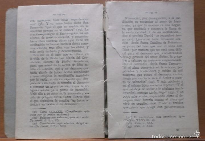 Libros antiguos: LLR 8 Práctica del Amor a Jesucristo - Tercera Edición - Madrid - Foto 3 - 57540655