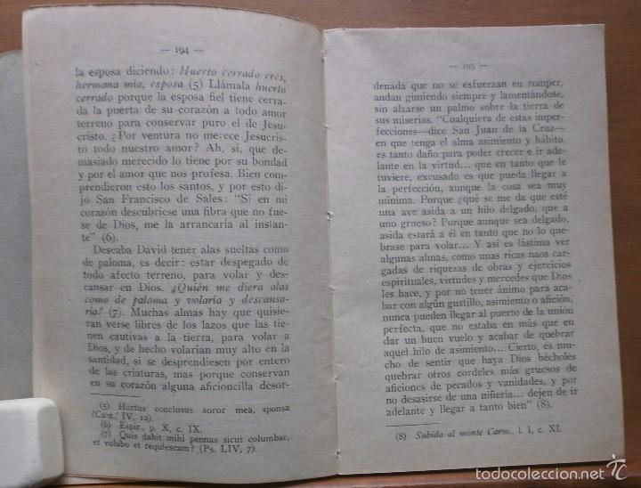 Libros antiguos: LLR 8 Práctica del Amor a Jesucristo - Tercera Edición - Madrid - Foto 4 - 57540655