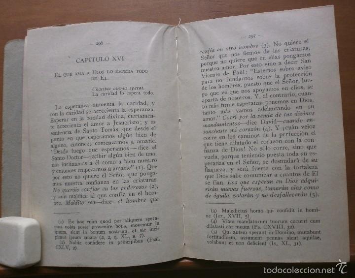Libros antiguos: LLR 8 Práctica del Amor a Jesucristo - Tercera Edición - Madrid - Foto 5 - 57540655