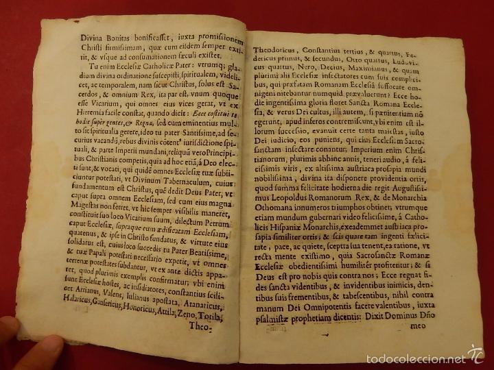 Libros antiguos: Apostrophe Dris Illuminati, ac Martyris, gloriosissimi beati Raymundi Lulli Balearis. 1688. Mallorca - Foto 10 - 57566535
