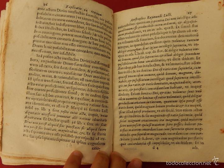 Libros antiguos: Apostrophe Dris Illuminati, ac Martyris, gloriosissimi beati Raymundi Lulli Balearis. 1688. Mallorca - Foto 17 - 57566535