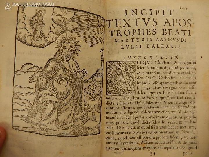 Libros antiguos: Apostrophe Dris Illuminati, ac Martyris, gloriosissimi beati Raymundi Lulli Balearis. 1688. Mallorca - Foto 24 - 57566535
