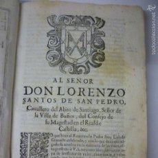 Libros antiguos: GRANADA, SIMBOLO DE LA FE. EN PERGAMINO AÑO 1676. LIBRO COMPLETO S. XVII.. Lote 57603901