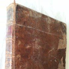Libros antiguos: ACTAS DEL CONCILIO DE TRENTO EN 1560´S * LIBRO DE 1779 CON UNAS 550 PAG . Lote 57689250