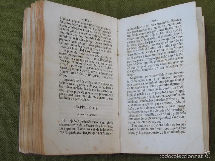 Libros antiguos: INTRODUCCION A LA VIDA DEVOTA -SAN FRANCISCO DE SALES - BARCELONA - LIBRERIA RELIGIOSA - 1856. - Foto 4 - 57705284