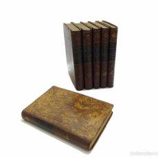 Libros antiguos: RODRIGUEZ, ALONSO -EJERCICIO DE PERFECCION Y VIRTUDES CRISTIANAS - 6 TOMOS OBRA COMPLETA AÑO 1.883. Lote 57811154