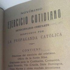 Libros antiguos: NOVÍSIMO EJERCICIO COTIDIANO.1935. . Lote 57910048