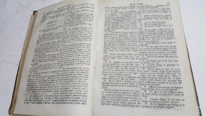 Libros antiguos: Clave de teología moral. Domingo Díez. Año 1864. - Foto 3 - 58078865