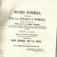 Libros antiguos: HISTORIA EVANGÉLICA CONFIRMADA POR LA JUDAICA Y ROMANA. R.P.D. PABLO PEZRON. TOMO II. MADRID.1852. Lote 58091814