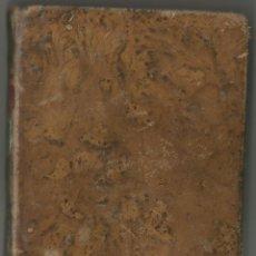 Libros antiguos: CATECISMO HISTORICO, COMPENDIO DE LA HISTORIA SAGRADA. CLAUDIO FLEURY. GRABADOS AL AGUAFUERTE. 1816.. Lote 58468829