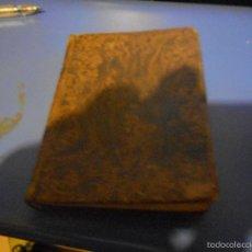 Libros antiguos: LIBRO 1860 DE PABLO MINGUET MEDITACIONES CON 38 GRABADOS O LAMINAS. Lote 58488498