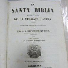 Libros antiguos: LA SANTA BIBILIA DE LA VULGATA LATINA. FELIPE SCIO DE SAN MIGUEL. TOMO 2º ANTIGUO TESTAMENTO. LEER. Lote 58493716