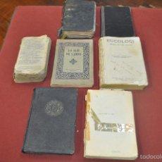 Libri antichi: LOT DE 7 LLIBRES RELIGIOSOS CATALANS ANTICS. VEURE FOTOS - RE33. Lote 58542284