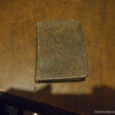 Libros antiguos: ANTIGO LIBRO DE MEDIADOS 1800 TAMAÑO BOLSILLO CON 35 GRABADSOS O LAMINAS SOBRE OFICIO DE LA MISA. Lote 58644136