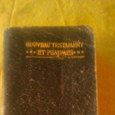 Libros antiguos: LE NOUVEAU TESTAMENT,TRADUCTION D´OSTERVALD REVISION DE 1894.PARIS 1915.FRANCES.. Lote 58646032