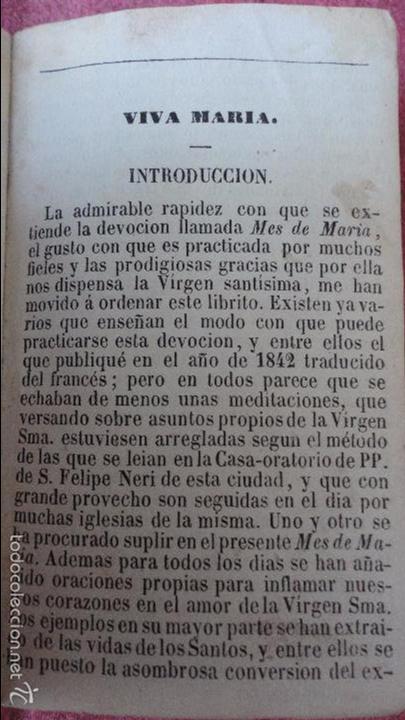 Libros antiguos: RAMILLETE DE FLORES.VIRGEN SANTISIMA.MES DE MAYO.IGLESIA NTRA,SRA DEL PINO.BARCELONA.1857. - Foto 2 - 237057680