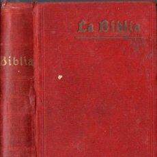 Alte Bücher - SANTA BIBLIA CIPRIANO DE VALERA 1911 - 128591336