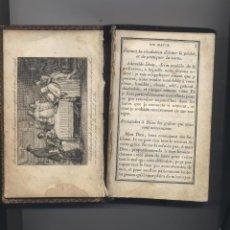 Libros antiguos: ANTIGUO LIBRO RELIGIOSO EN FRANCES. Lote 59662659