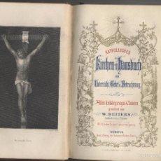 Libros antiguos: ANTIGUO LIBRO EN ALEMAN-GUIA DE IGLESIAS CATOLICAS-W.DEITERS-1846. Lote 59693547