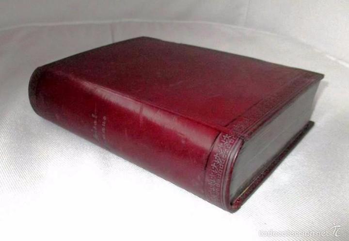 PEQUEÑO MISAL ROMANO PARA LA MUJER CATÓLICA. JOSÉ SAYOL Y ECHEVARRÍA. 1883. (Libros Antiguos, Raros y Curiosos - Religión)
