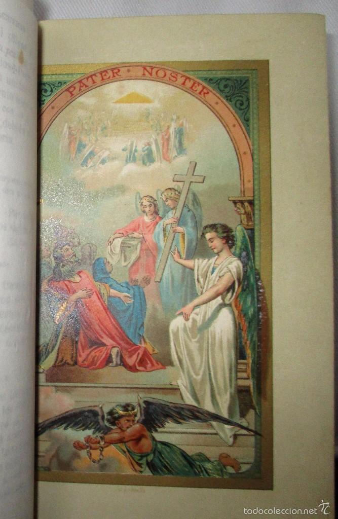 Libros antiguos: PEQUEÑO MISAL ROMANO PARA LA MUJER CATÓLICA. JOSÉ SAYOL Y ECHEVARRÍA. 1883. - Foto 8 - 59713215