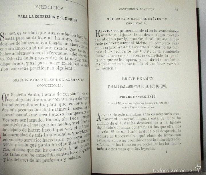 Libros antiguos: PEQUEÑO MISAL ROMANO PARA LA MUJER CATÓLICA. JOSÉ SAYOL Y ECHEVARRÍA. 1883. - Foto 12 - 59713215