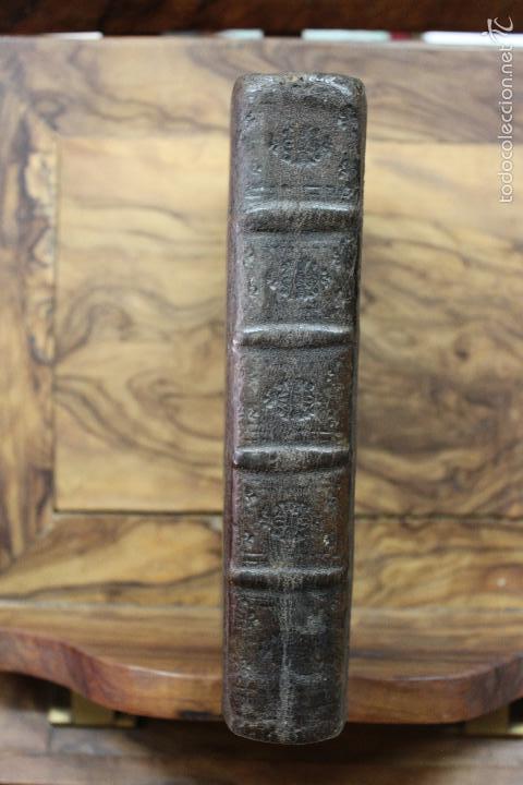 Libros antiguos: OFFICIA PROPRIA SANCTORUM ET ALIARUM FESTIVITATUM ORDINIS CARMELITARUM... 1745. - Foto 2 - 59845524