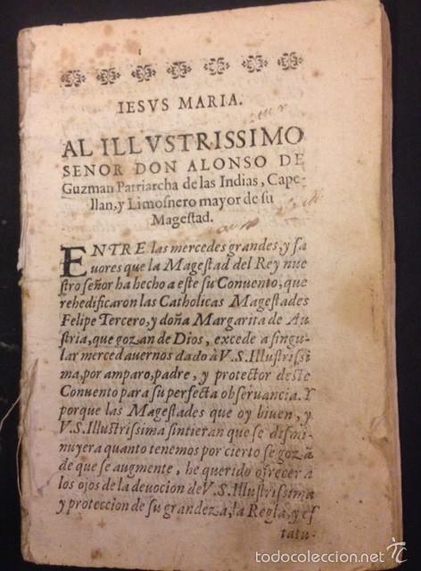 Libros antiguos: SEGUNDA REGLA DE LA ORDEN DE SAN FRANCISCO - Foto 2 - 105237526