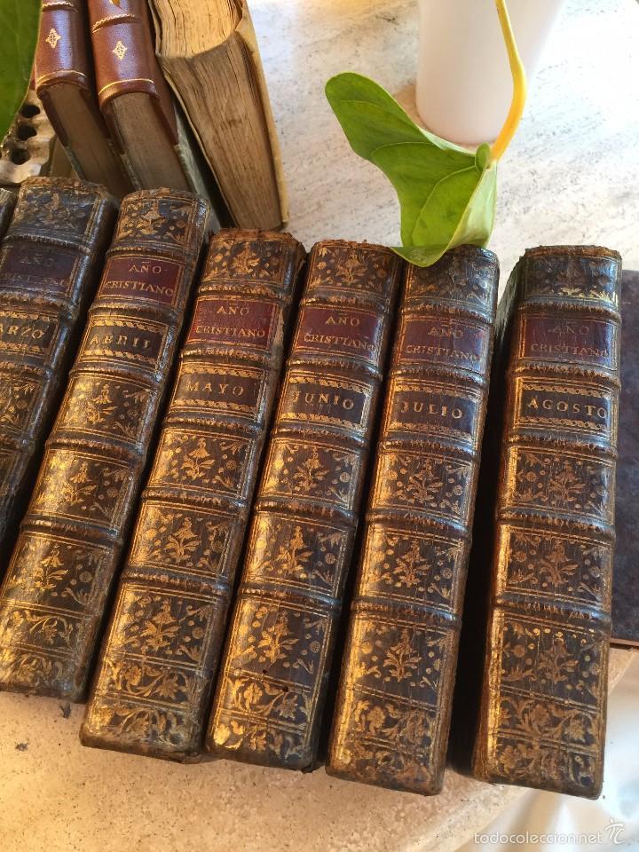AÑO CRISTIANO 1.782 - 12 MESES (Libros Antiguos, Raros y Curiosos - Religión)